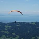 Traumhaftes Panorama über den Bodensee