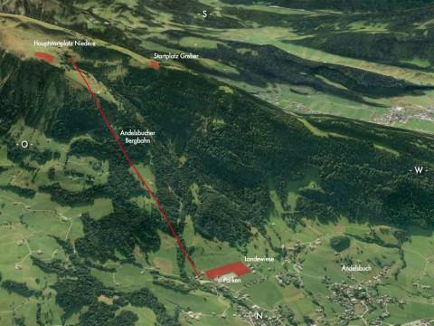 Paragleiten Bregenzerwald