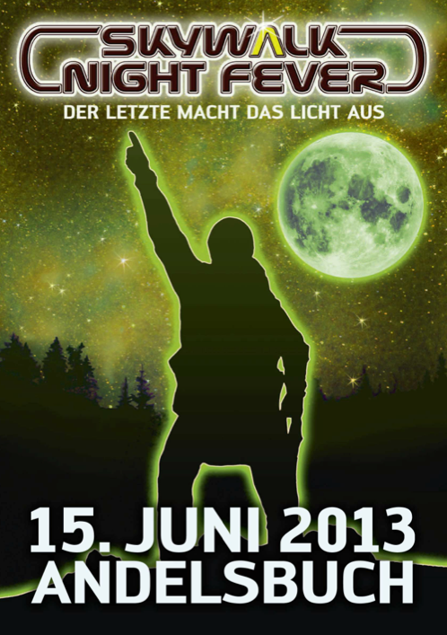 Skywalk Nightfever 2013