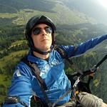 Gleitschirmfliegen mit GoPro Cam in Andelsbuch/ Alpen
