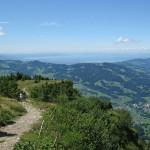 Blick von der Niedere Richtung Bodensee